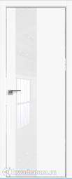 Межкомнатная дверь Профильдорс 5Е Аляска алюминиевая кромка