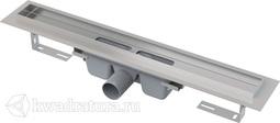 Водоотводящий желоб с порогами для цельной решетки Alcaplast APZ6 Professional