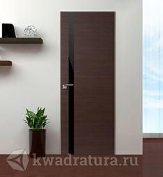Скрытая межкомнатная дверь ProfilDoors 6Z Венге Кроскут ABS