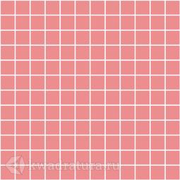 Керамическая мозаика Темари темно-розовый матовый 29.8x29.8