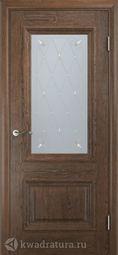 Межкомнатная дверь Двери и К 65 Эрика ДО орех