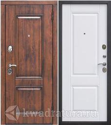 Входная дверь Феррони Вена 9,5 см Белый матовый