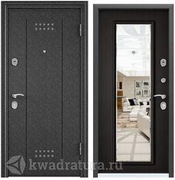 Дверь входная стальная Торэкс Delta М 11 венге зеркало