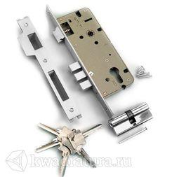 Механизм под ключ 3 ригеля Archi хром