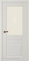 Межкомнатная дверь Крокус СТ эмаль белая