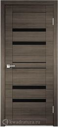 Межкомнатная дверь VellDoris Linea 6 серый поперечный