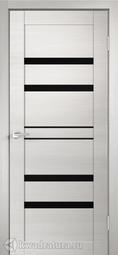 Межкомнатная дверь VellDoris Linea 6 Дуб белый поперечный