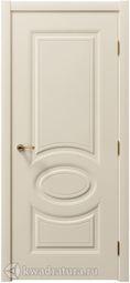 Межкомнатная дверь Примула Лайт эмаль слоновая кость
