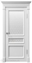 Межкомнатная дверь Ландыш ДО серена белые