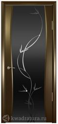Межкомнатная дверь Океан Буревестник 2 СТ Тон Растение венге