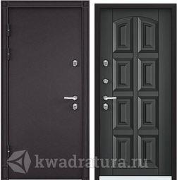 Дверь входная стальная Торэкс Snegir 45 MP Темный пепел