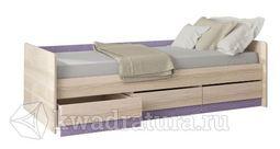 Кровать Индиго  с 3-мя ящиками