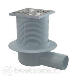 Сливной трап Alcaplast APV1 105x105/50 выпуск боковой, гидрозатвор